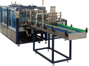 Drop-out Type Carton Box Wrapped Packing Machine for Beverage Production Line (WG-XB25) pictures & photos