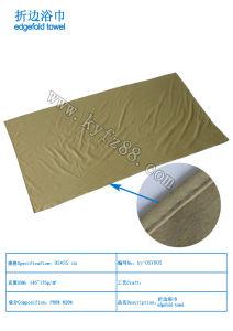 Soild Microfiber Beach Towel with Hem