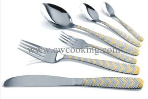 12PCS/16PCS/24PCS/72PCS/84PCS/86PCS High Class Stainless Steel Flatware Cutlery Tableware (CW-CYD850) pictures & photos