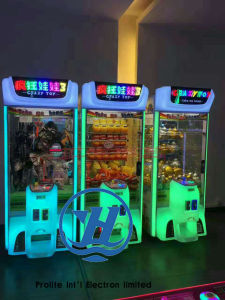 Coin Operated Crane Claw Toy Gift Game Console (ZJ-CGA-3) pictures & photos