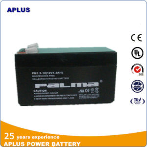 Rechargeable UPS 12V1.3ah Solar AGM Deep Cycle Battery for Tools pictures & photos