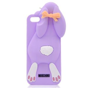 Customized Fur Leather Case Cover for iPhone 5 5s (HK-FL1259) pictures & photos