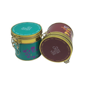 Lock Coffee Tea Tin Container Tin Box Wholesale pictures & photos