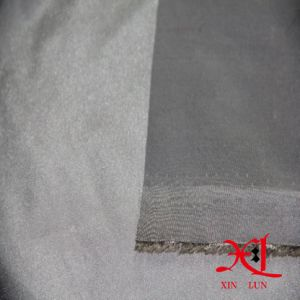 40D Nylon Silver Shiny Waterproof Fabric for Jacket/Winter Jacket pictures & photos