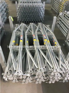 2.13m/7′ Durable Safe Ringlock Scaffolding System Truss Ledger Reinforce Ledger pictures & photos