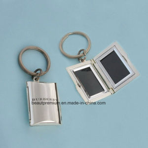 New Design Book Shape Metal Key Chain with Customized Logo BPS0177 pictures & photos