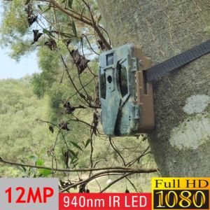 Full HD Smart IR Surveillance Waterproof Infrared Camouflage Track Hunting Camera pictures & photos