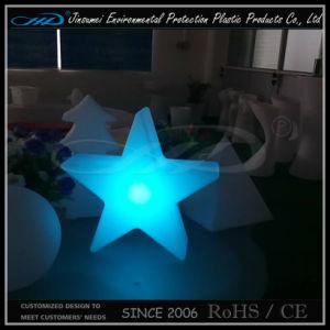 PE Plastic Small Color Change LED Decorative Star Lamp pictures & photos