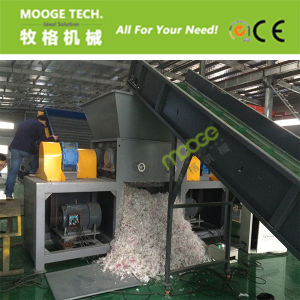 Double Single Shredder Machine for PE/PP Film pictures & photos