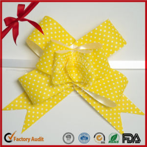 Drawstring Ribbon Butterfly Pull Bow for Gift Wrapping Decorations pictures & photos