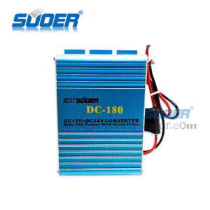 Suoer 180W 24V DC to 12V DC Converter Transformer Power Converter (DC-180) pictures & photos