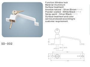 Aluminium Door/Window Handle with Keys Hardware Accessories (SD-002) pictures & photos