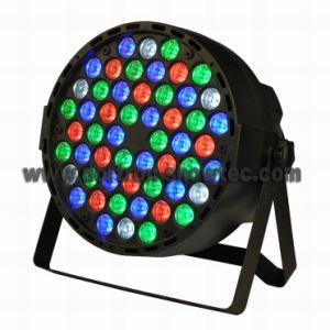 Flat LED PAR RGBW 54X1w