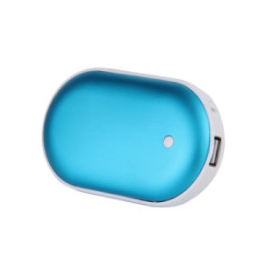 5000mAh Stone Shape Power Bank Hand Warmer with Full Capacity pictures & photos