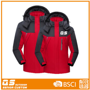Large Red Windproof Sports Jacket for Men pictures & photos