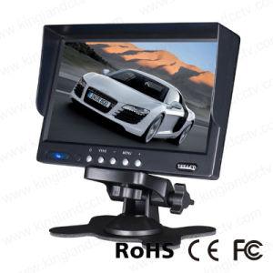 """7"""" TFT LCD Reversing Backup Monitor with 2 AV"""