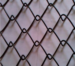 Temporary Construction Chain Link Fenc Top Barbed Wire Mesh pictures & photos