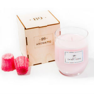Pink Wax Romantic Birthday Gift Aroma Candle