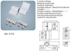 Aluminium Hinge for Doors and Windows/Hardware (SH-570) pictures & photos