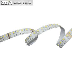 144LEDs/M 5050 Rgbww/Warm White Double Row LED Strip pictures & photos