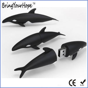 3D Style Shark USB Pendrive in PVC (XH-USB-133) pictures & photos
