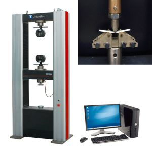 ASTM D790 Plastic Flexural Testing Equipment/ Tensile Testing Machine pictures & photos