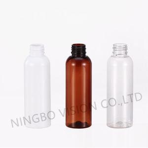 120ml Amber Pet Cosmo Plastic Bottle with Atomizer/Disc Top Caps /Flip Top Caps /Screw Caps pictures & photos