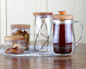 Double Walls Coffee Maker Glass French Press pictures & photos