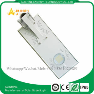 15W Integrated LED Solar Street Light for Garden Courtyard Lighting System pictures & photos