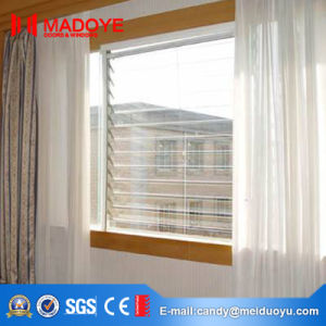 Aluminum Casement Window with Electric Blinds pictures & photos
