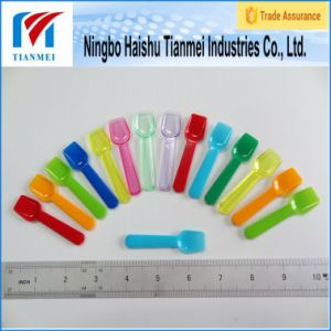 Custom Disposable Mini Yogurt Plastic Spoon pictures & photos
