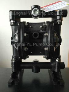Al Material Mini Oil Transfer Air Pneumatic Double Diaphragm Pump pictures & photos