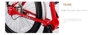 Tdjdc High-Precion Shaft Drive Bicycle 26*17′′inner 7 Speed Travel Bikes pictures & photos