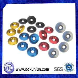 Aluminum Countersunk Washer/Color Anodized Aluminum Countersunk Washer/Color Screw Washer