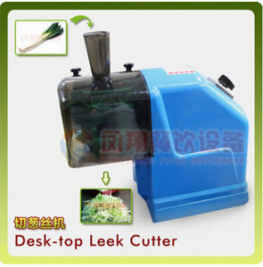 CS-50 Desk-Top Leek Cutting Machine, Small Size Home Use Desk-Top Leek Cutter pictures & photos
