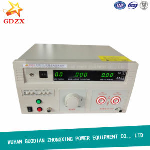 Factory Portable AC DC High Voltage Withstand Tester Hipot Tester pictures & photos