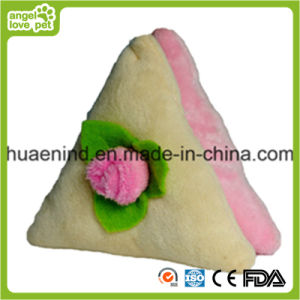 Lovely Triangle Sandwich Dog Toy pictures & photos