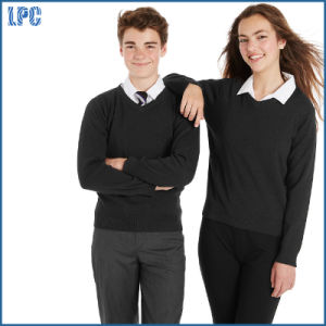 University Cotton Rich Unisex Slim Fit Jumper pictures & photos