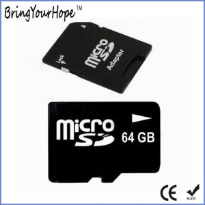 64GB Class 10 High Speed Micro SD Card with SD Adapter (64GB TF) pictures & photos