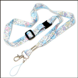 Cute Sublimation Logo Polyester Lanyard for Children Gift pictures & photos