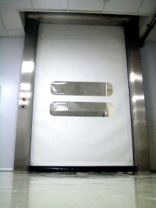 Factory High Speed Rolller Shutter, PVC Transparent Curtain Roll up Door (Hz-HSD08) pictures & photos