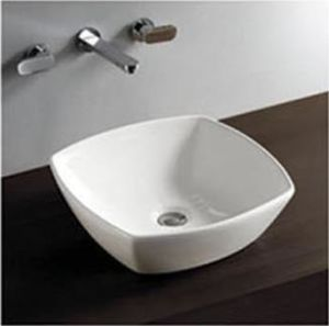 Hot Sale Modern Bathroom Ceramic Counter Basin pictures & photos