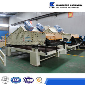 Mineral Dewatering Vibrating Screen with Vibrating Motor pictures & photos