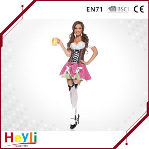 Classic Gothic Maid Adult Servant Cosplay Costume for Party pictures & photos