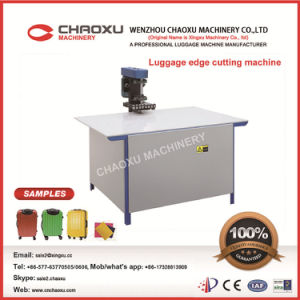 Luggage Edge Cutting Machine with European Quality pictures & photos