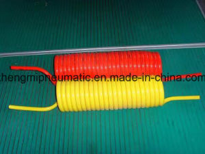 Orange Polyurethane Recoil Hose (10*6, 5m, 7.5M) pictures & photos