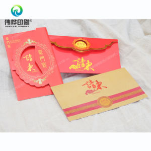 Various Paper Printing Wedding / Invitation Cards pictures & photos