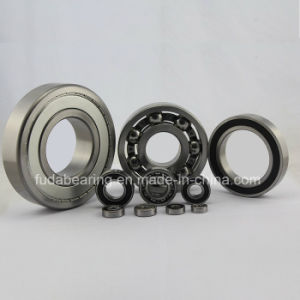 Chrome Steel Deep Groove Ball Bearing 6301 Bearing for Motor Engine pictures & photos
