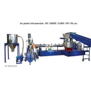 Customized Watering Plastic Recycling Machine Sj120 Extruder PP PE Film pictures & photos