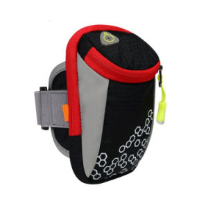 Sporting Nylon Wrist Pouch Running Armbag Wrist Bag for Smartphone pictures & photos